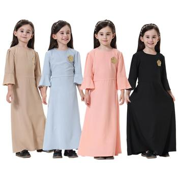 Modest fashion dubai fancy dresses muslim 2017 abaya muslim women wear Front closed embroider abaya dress