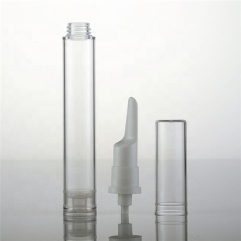 Hot sales 10ml plastic cream bottle