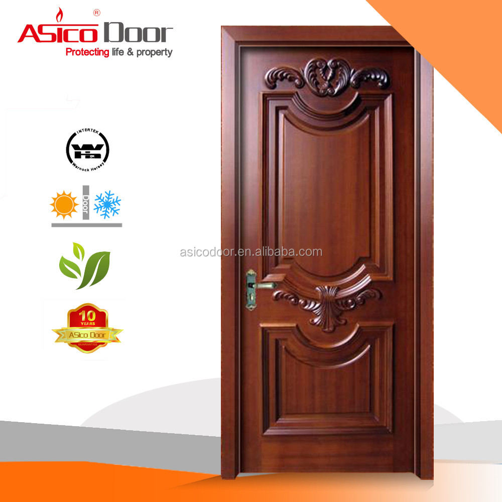 Stunning wood single door design ideas exterior ideas 3d for Single main door