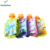 Plastic Packing Disposable Water Energy Drink Juice Food Sugar Sachet With Nozzle Cap