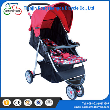 High quality wide baby structure baby stroller/lightweight single stroller for baby/folding baby