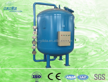 Plc Control Automatic Active Carbon Filter Tank For Grey Water ...