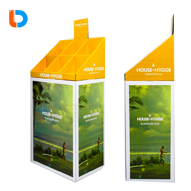 Factory Directly Sell New Design Cardboard Pallet Display For Retail and Sales Promotion