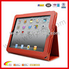 2014 new product leather case for ipad case, for ipad 4 case with stand