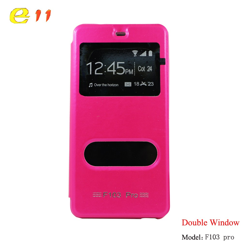 for F103 pro mobile phone case TPU double window case