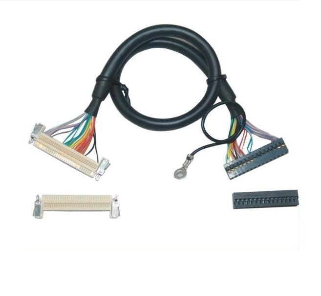 Fast Shipping In stock LVDS cable 45 50 cm 30 Pin FI-X30HL Shield cable for LCD Panel