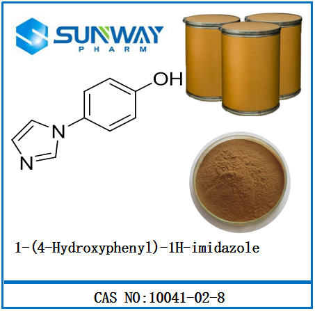 High Quality Chemical products 10041-02-8 1-(4-Hydroxyphenyl)-1H-imidazoleShanghai Sunway