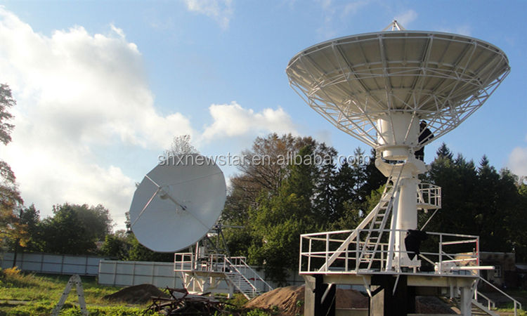 NEWSTAR 4.5 M HOT ขาย Rx - เพียงเสาอากาศดาวเทียม C Band และ Ku Band