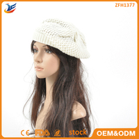 OEM baby hand knitting hats on alibaba top manufacturer
