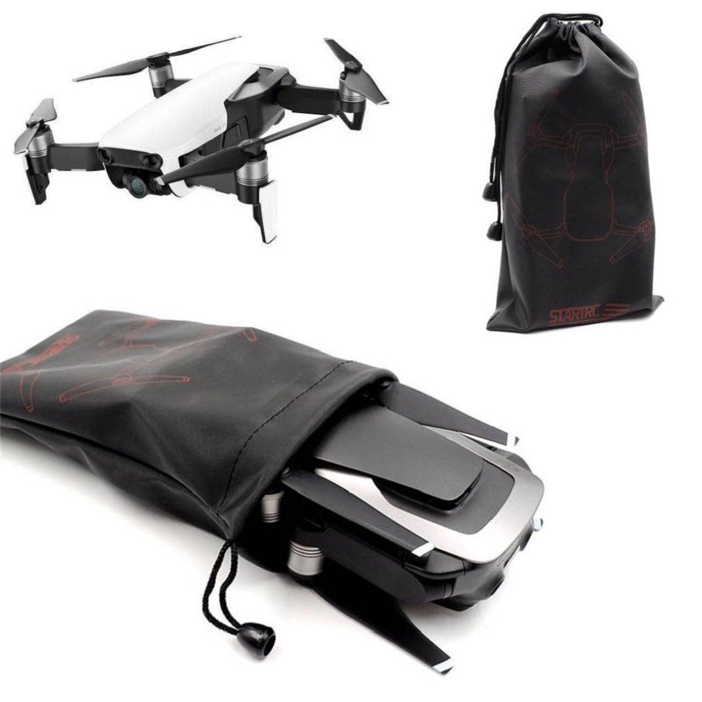 Cool Black Storage Bag For DJI Mavic Air,Aircraft Sleeve Portable Storage Bag Pouch Carrying Case Bag For DJI Mavic Air