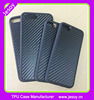 JESOY Dynamic Real Carbon Fiber Hard Rubber Phone Case for iPhone 6 4.7 inch Black