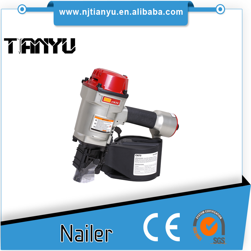 Pneumatic Coil Nailer CN70, MAX DESIGN Customizable packaging Provide Firing pin Accessories