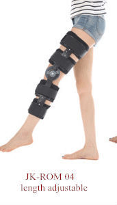 low price CE FDA Adjustable ROM Hinged Orthopedic Knee Brace postoperative knee immobilizer knee support