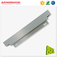 High Accuracy Aluminum Sheet Metal Brake Fabrication Laser Cutting Working