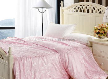 Hot Sale Indian Cotton Bed Cover Thai Silk Moda Home Accord Bedding 1800tc Bed  Sheet Sets