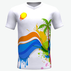 Hot Sale Clothing sublimated Custom T-shirt Printing Manufacturer