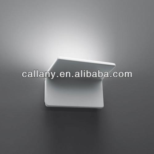 mini plaster wall sconce light