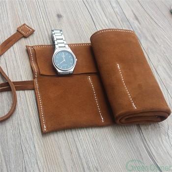 185cdb03c7e76 Custom Logo Freely Suede Leather Watch Roll Pouch,Watch Case Box - Buy  Leather Watch Case,Watch Case Box,Watch Box Product on Alibaba.com