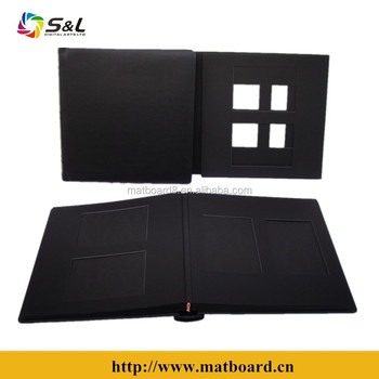 10 Inner Black Pages With 20 Inner Frames Photo Albums Wholesale