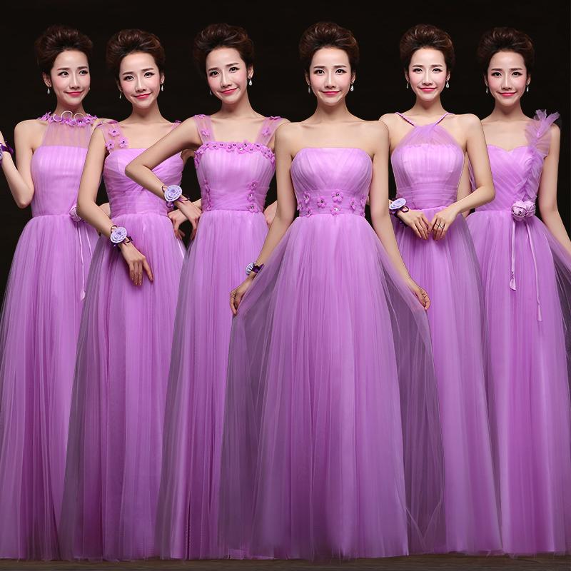 Bridesmaid Dresses Purple Lavender