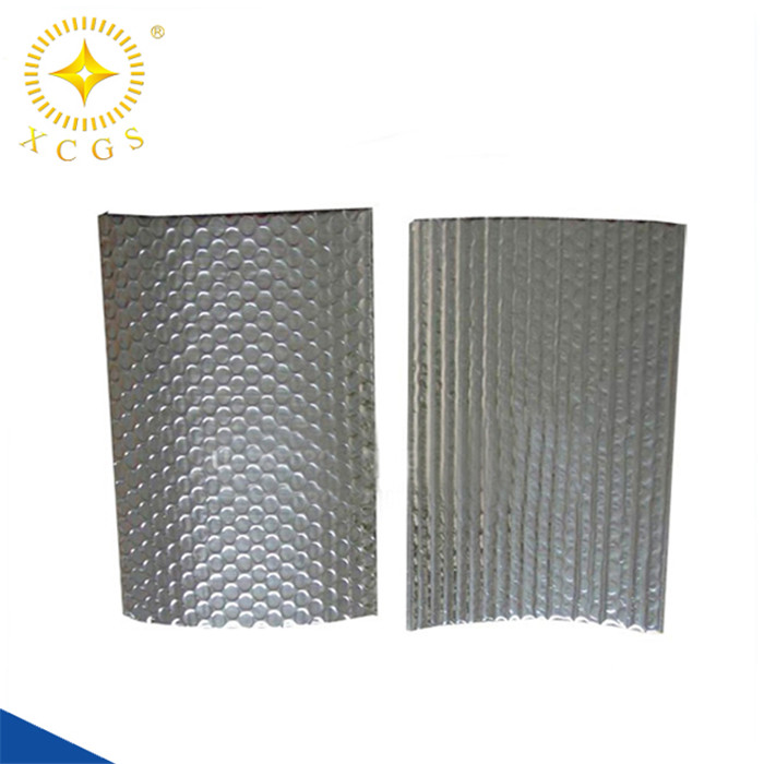 foil wrapped duct insulation high r value r-4.2 aluminum bubble foil insulation