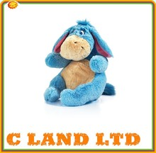 Cute Stuffed Animal Sitting Eeyore