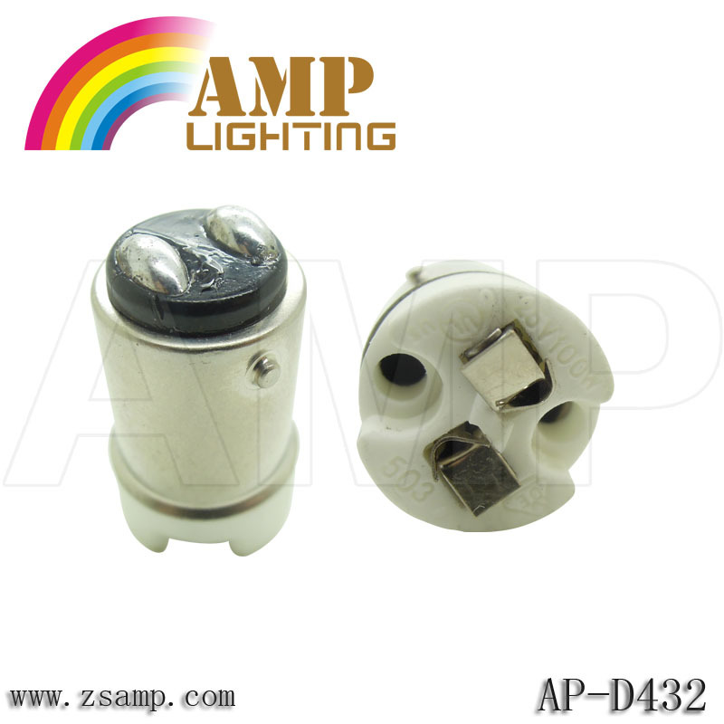 lamp socket BA15D to MR16 adapter G4 lampholder