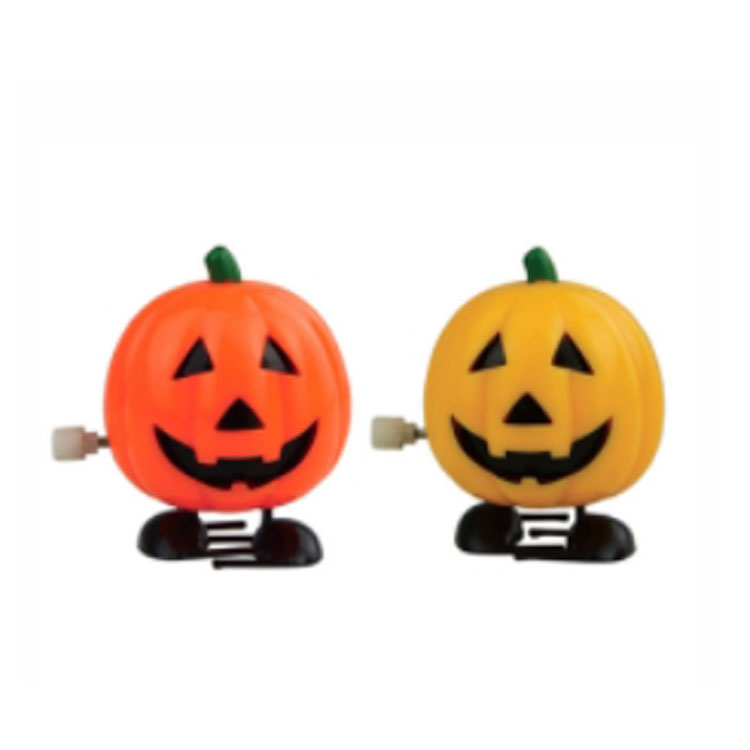 Halloween creepy wind up chattering toy wind up Christmas pumpkin