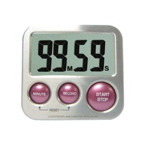 CE FDA Electronic Digital Time timer electric with ultra loud alarm