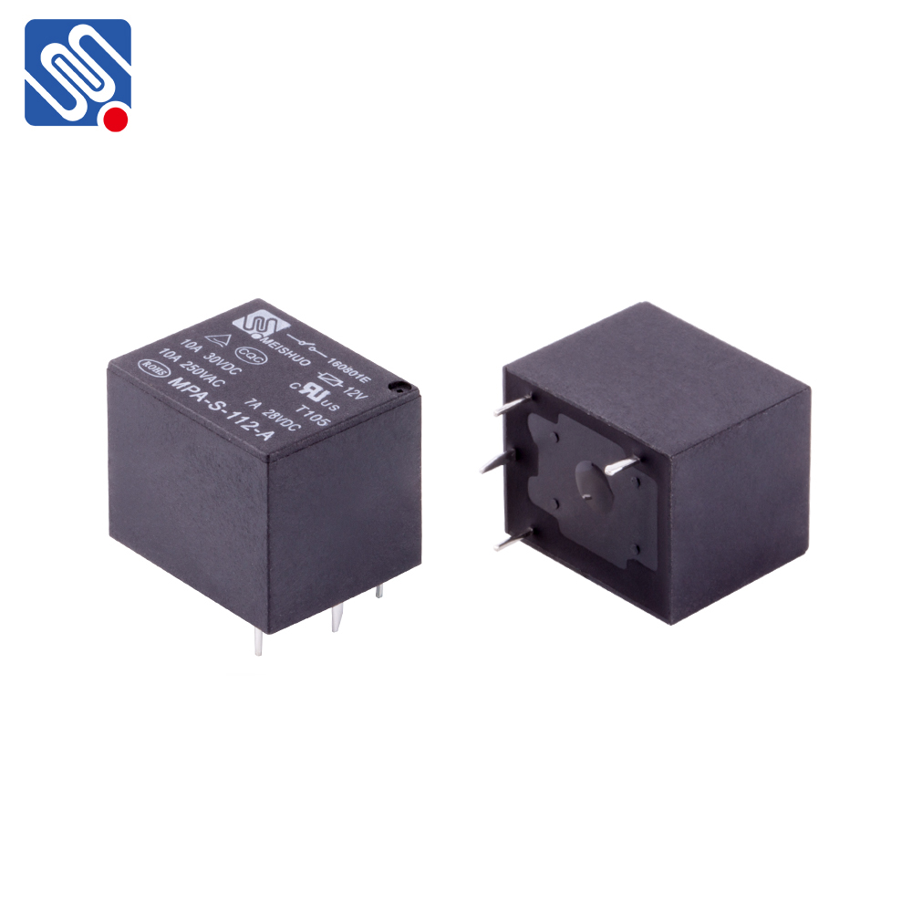 Meishuo MPA  Waterproof  auto relay 10a 12v  relay