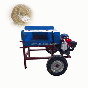 Natural fiber processing fresh kenaf hemp fiber machine