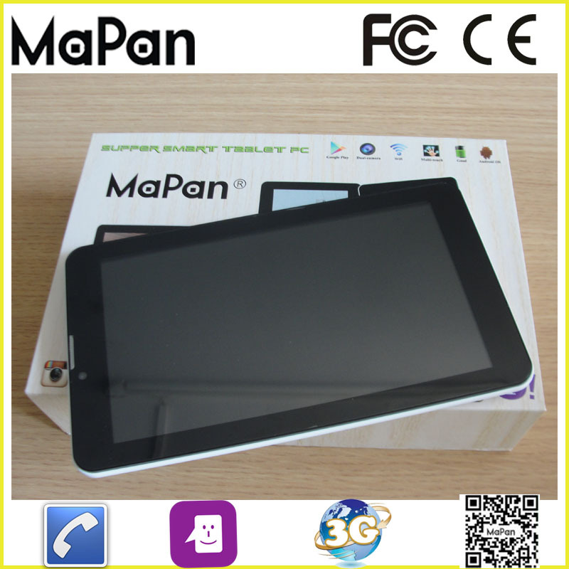 bulk wholesale dual Core 1.3 mp Camera GSM 3G GPS 7 inch rugged android 4.4 tablet