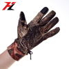 Neoprene waterproof camo keep warm hunting gloves with mesh grip palm