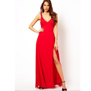 d6ea9b6106 2017 Alibaba fashion vestidos de fiesta long red prom dresses black bodycon  bandage evening dress