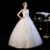 LSYNM095 ladies long cheap wedding dresses made in China elegant ivory applique strapless ball gown