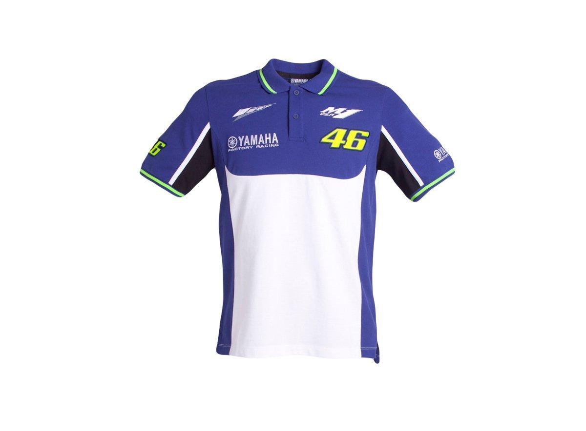 Buy Valentino Rossi Vr46 M1 Yamaha Racing Team Moto Gp Polo Shirt