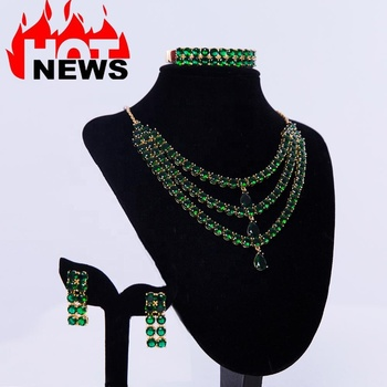 new products gold filled plated bridal wedding jewellery african gl jewelry sets women