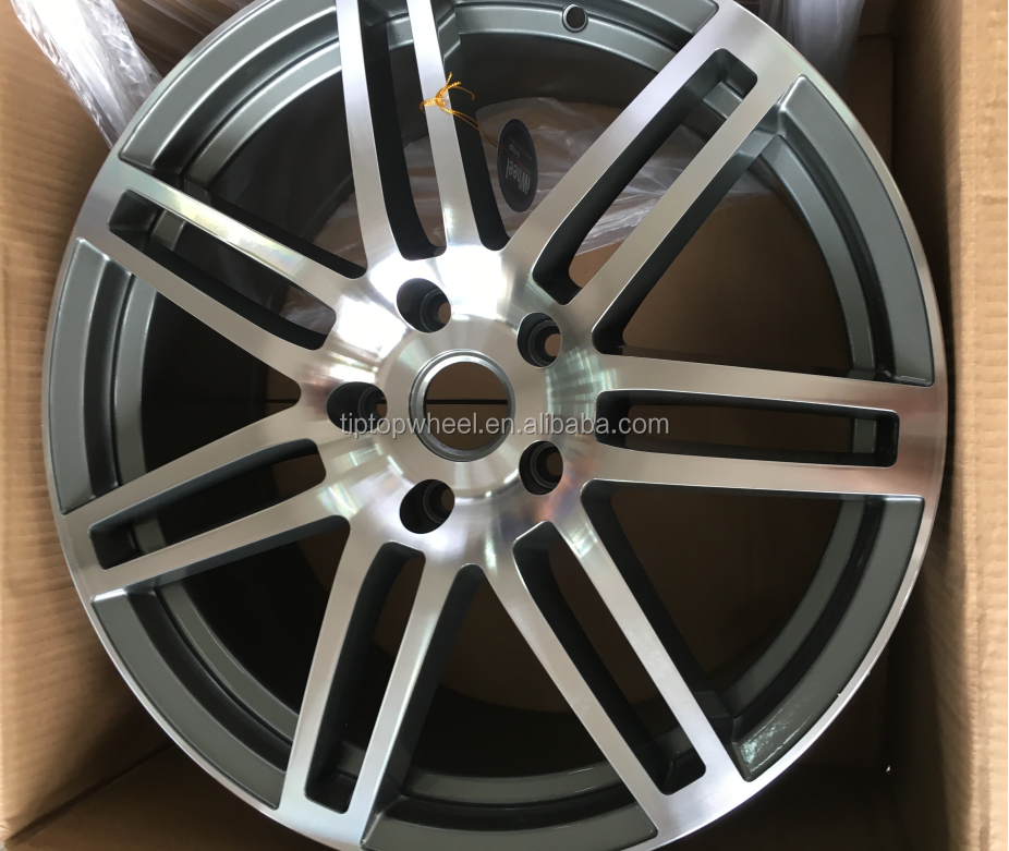 19' high quality competitive price replica wheel rim 4x100 auto parts wheels machine