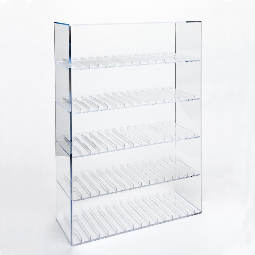 High Quality Custom E-liquid Juice Display Stand Clear Acrylic Cigarette Display Rack Cabinet