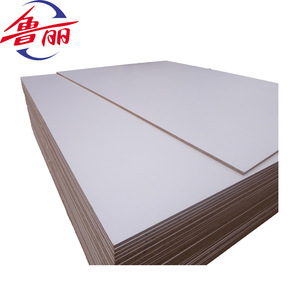 luli cheap 18mm melamine faced particle board door