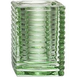 Candle Lamp Company 865 Clear Kelly Clear Cube Lamp (06-0879) Category: Candles, Candle Holders and Vases