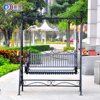 Wrought Iron Metal Garden Swing Chairs Manufacture Hanging Chair