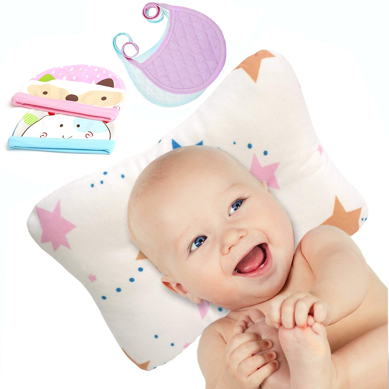 For Your New Preventing Flat Head Syndrome plagiocephaly Reasonable Hidetex Baby Pillow