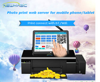 7 inch touch screen intel Mini pc with touch screen mini pc surpport printer/projector/ TV