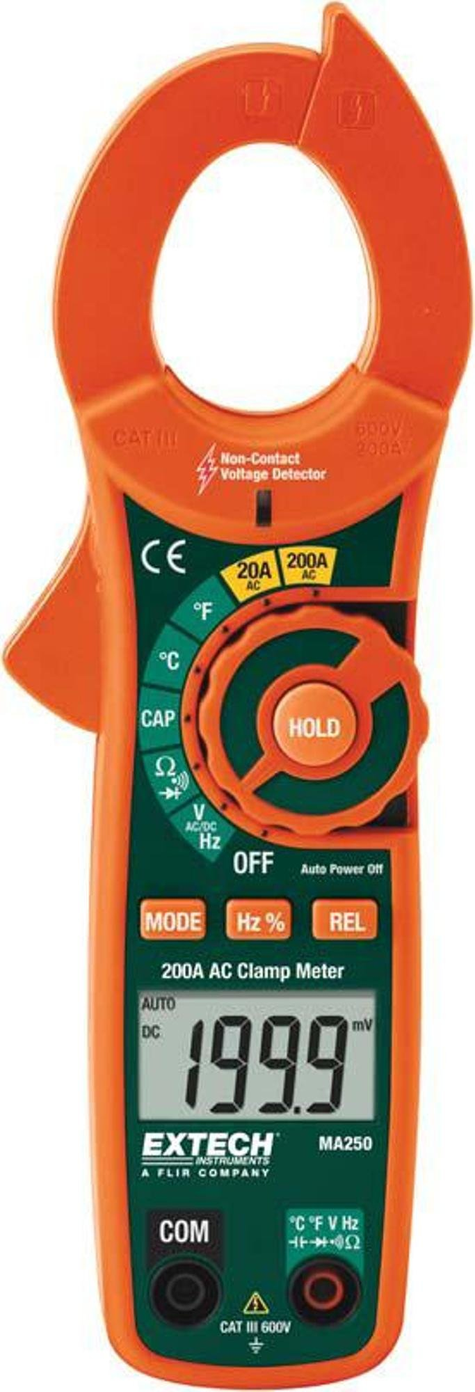 Extech Instruments MA250 Compact Clamp Meter