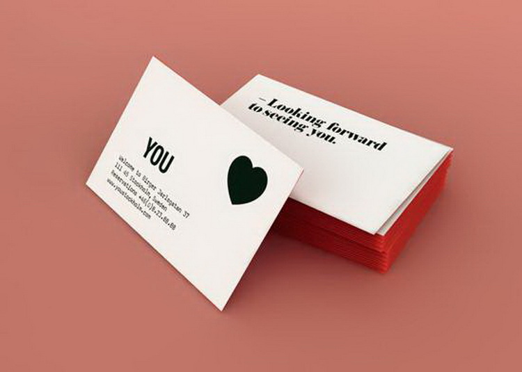 The most popular professional letterpress business card