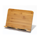 Portable and Foldable Music Ipad Reading Bamboo Book Stand