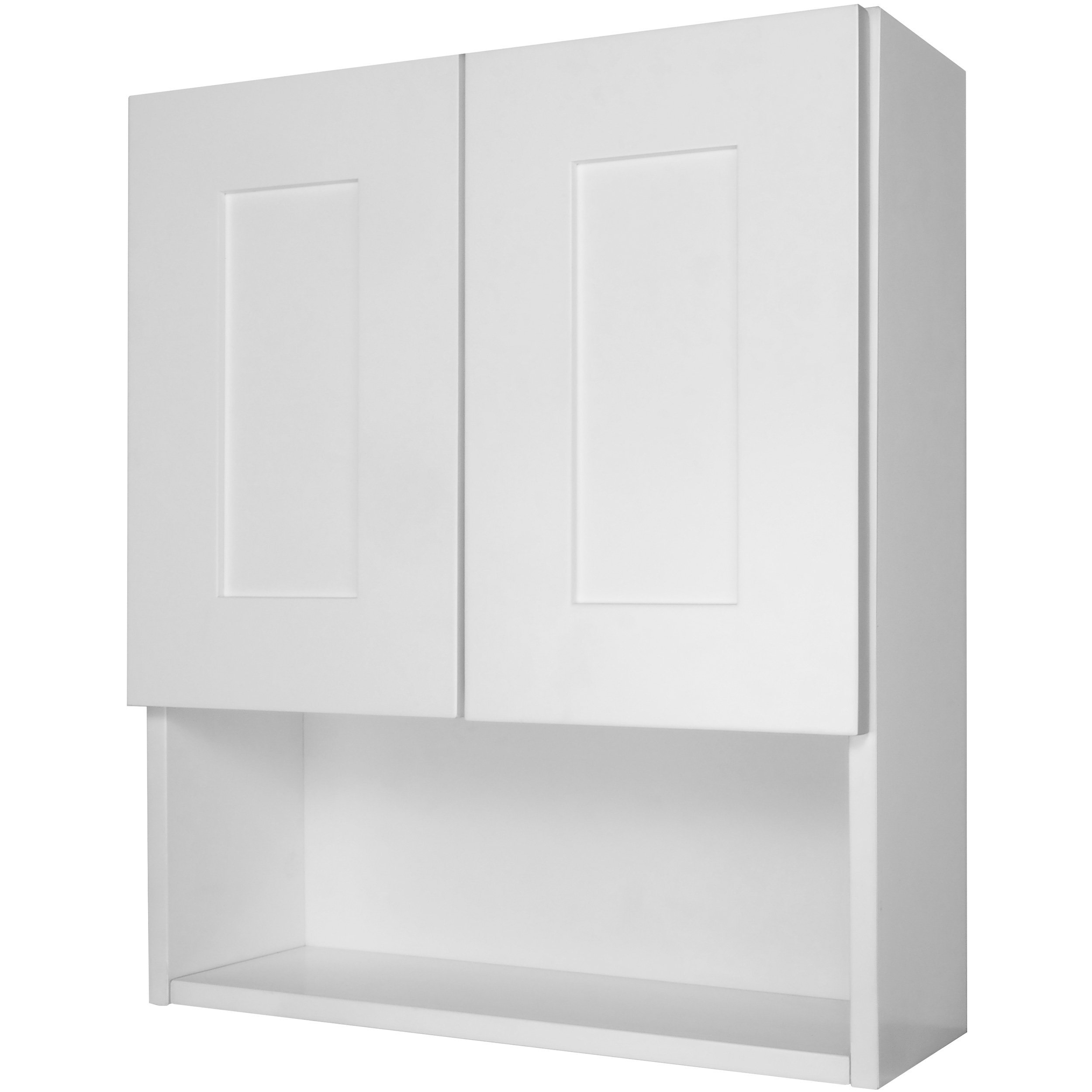 Get Quotations · Everyday Cabinets 21 Inch Medicine Cabinet, White Shaker  RTA