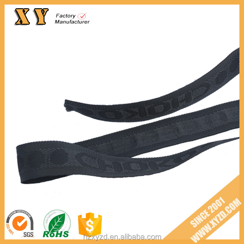 Garment accessories jacquard elastic webbing/band for underwear soft comfortable