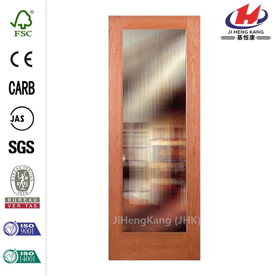 JHK-G01 French Style Warehouse Colored Glass Kitchen Cabinet Sliding Door Hardware Interior Door
